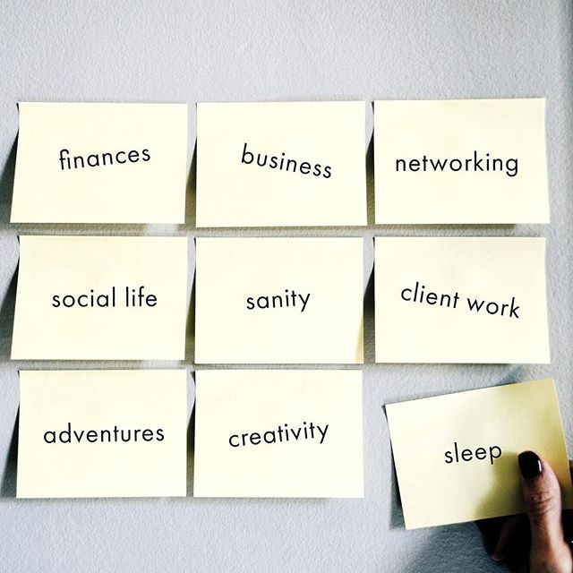 Phew! Owning a business is quite the balancing act. — It's now the third week and I've been hustling like crazy on...all the things. — One of my biggest struggles has been balancing business development, client work, creative space, and, well, my sanity haha. — Fortunately, I'm working on putting all my systems and processes in place, including: • Setting up my 4-1-1 goal sheet to track annual, monthly, and weekly goal progress • Relying on my @asana as my personal assistant to keep me accountable to my tasks • Scheduling *everything* on my Google Calendar - well, mostly everything (bathroom breaks excluded 😉) • Setting up my budgets and spending tracker to hold me more accountable to how much I'm spending on a daily basis (hint: there's lots of coffee in there 🙊) — So far, it's all helping me a bit. But most importantly I have to keep my mental and physical health a priority during this crazy transition phase. — How do you keep track of *all the things*?