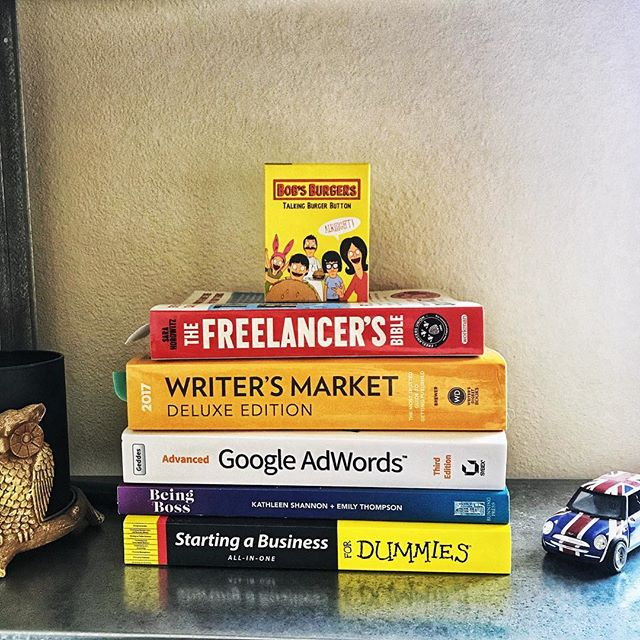How do you learn best? — I find I personally learn best: a) Hands on b) Through books When I mix the two? Watch out world, I'm dangerously genius! 🤓 or something... — This process has been a huge learning curve. These books have been extremely helpful resources, as well as a couple other e-books not featured. — What have been your favorite books for inspiration/education?