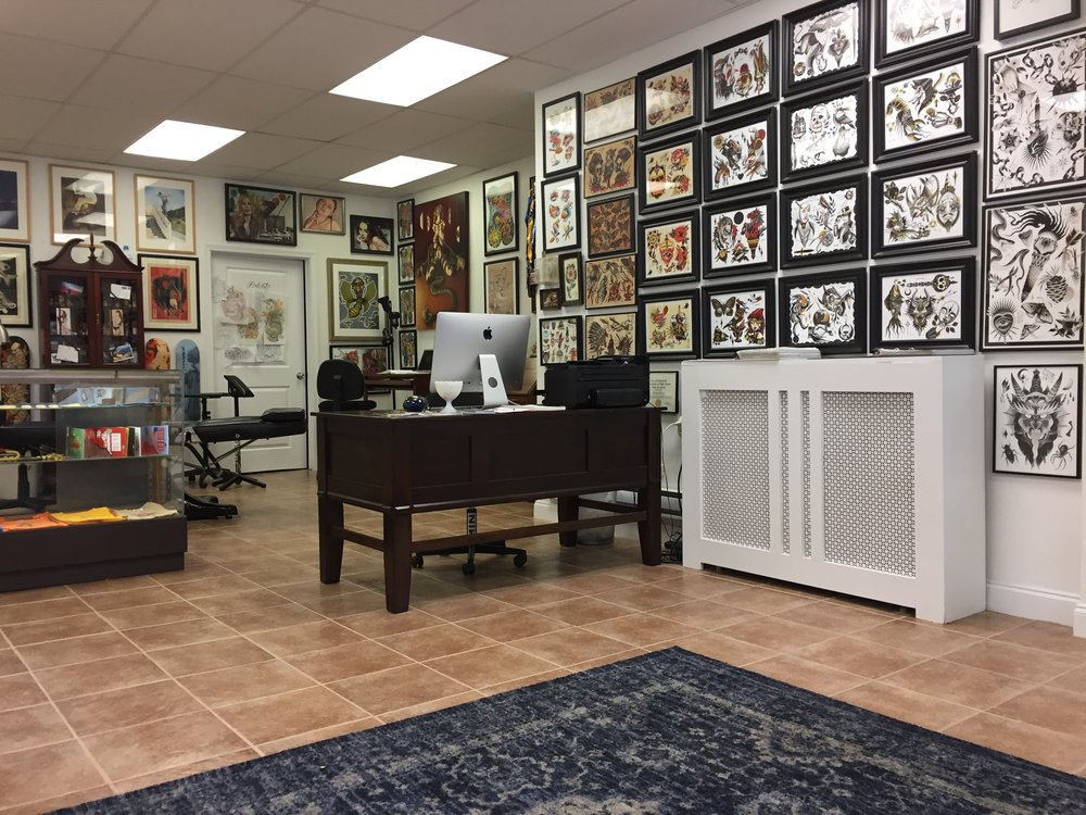 Custom tattoo parlor in Ardmore, PA