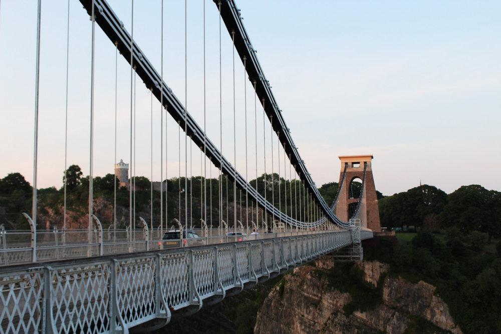 bristol, uk   clifton suspension bridge