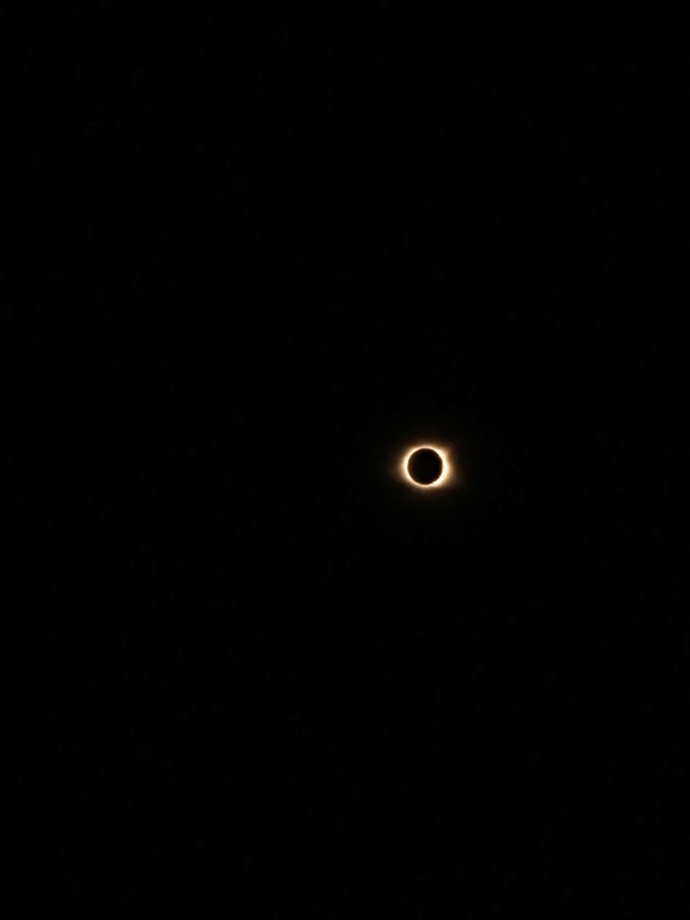 total eclipse from the path of totality