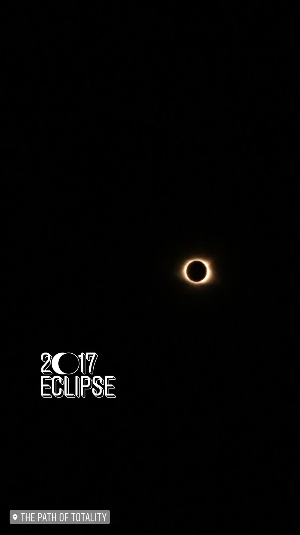 solar eclipse | path of totality