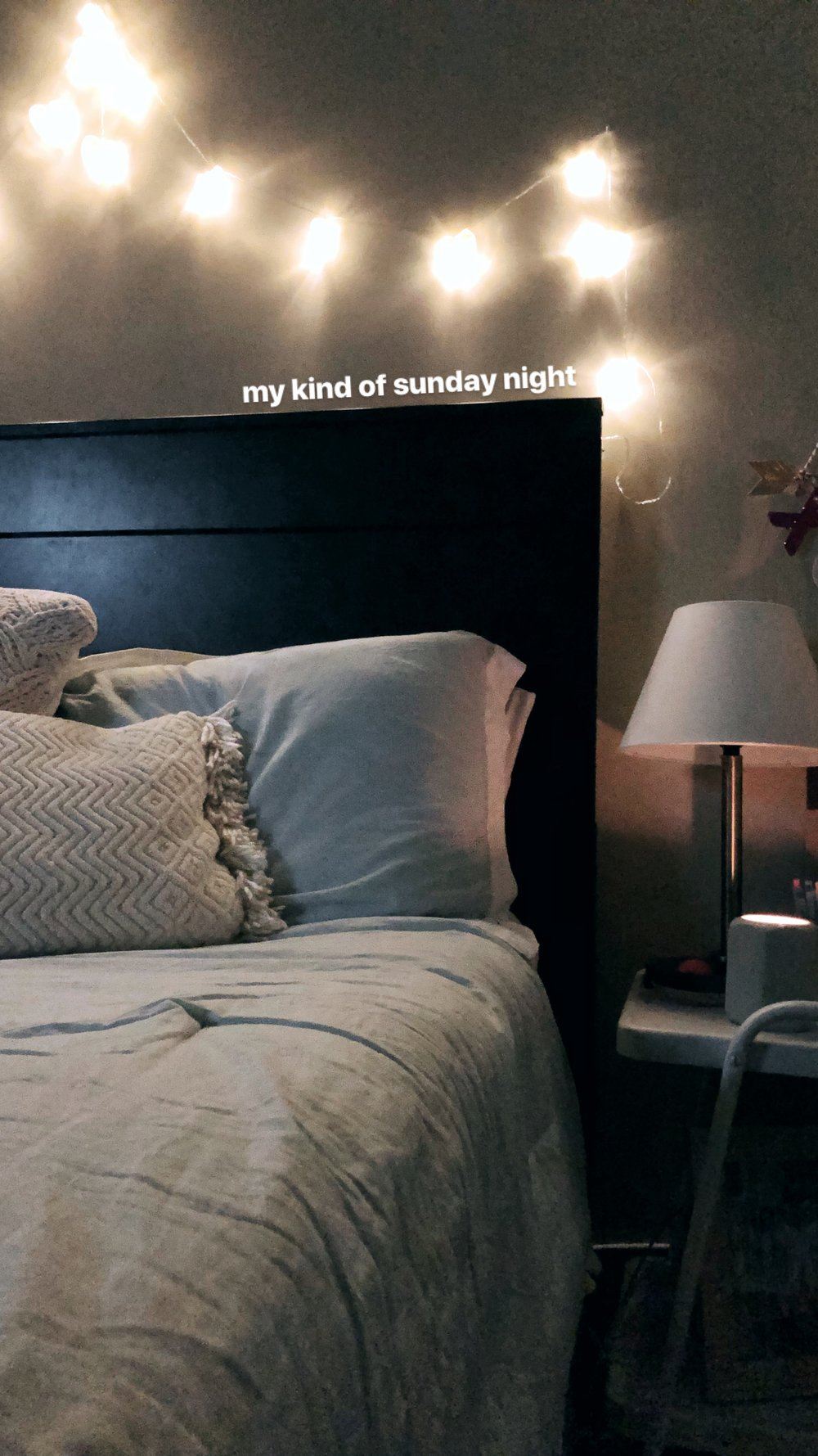 Dreamy, cozy, Sunday nights