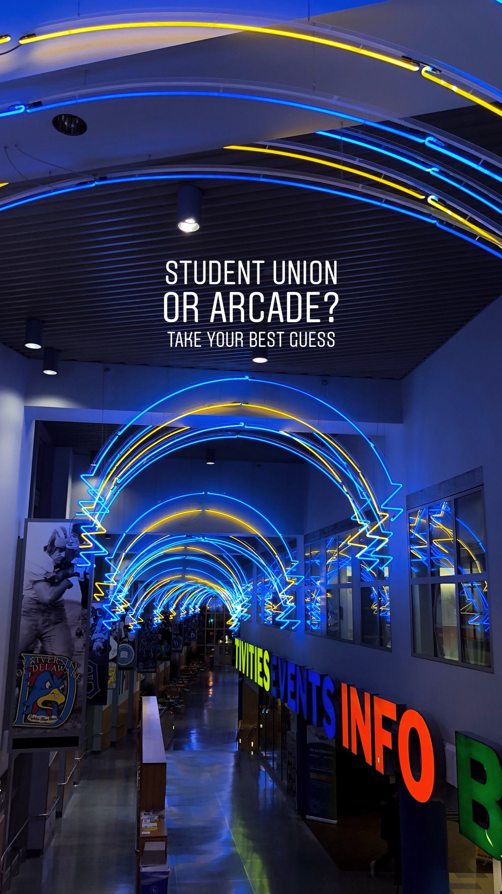 Correct answer: University of Delaware Student Union