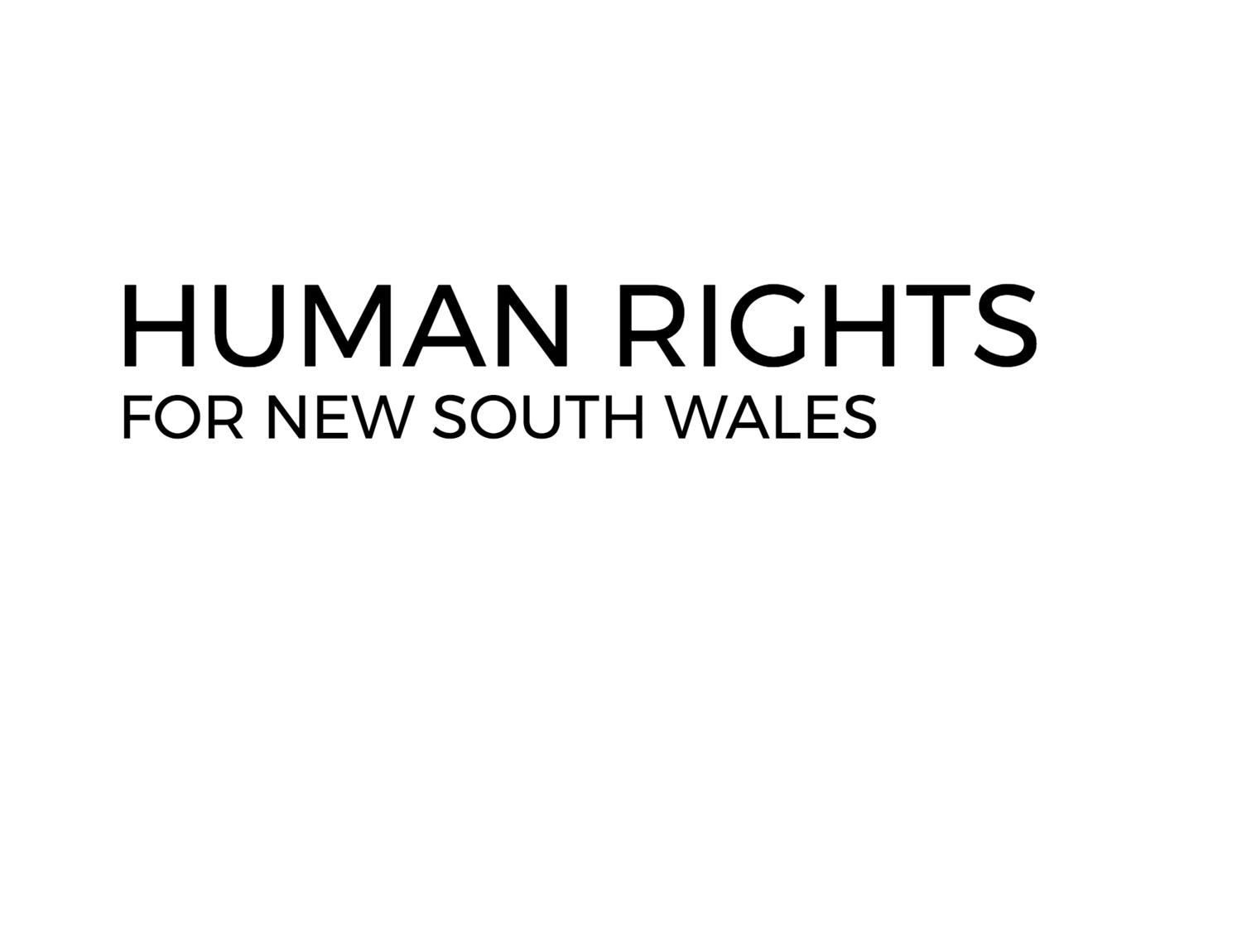 Human Rights for NSW