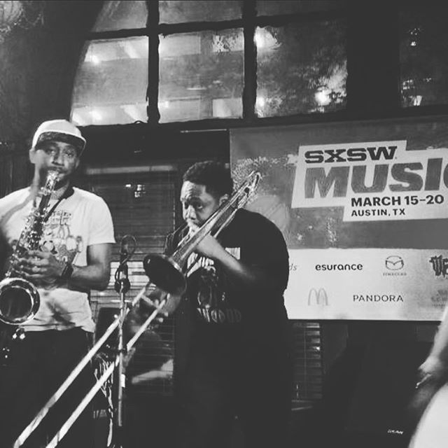 #SXSW last year. Doing it again next week! #Stoked to return to #Austin and make some waves. . . . . . . . #official #bars #instamoment #instadaily #instamood #rap #hiphop #party #live #livemusic #music #trombone #beats #dj #nerd #nerdcore #otaku #gamer #videogames #games #love #workout #gains #gear #saxophone #instagood