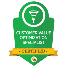 Certified Customer Value Optimization Specialists are uniquely qualified to help businesses architect a conversion funnel that reduces initial customer acquisition costs, while simultaneously increasing both immediate and lifetime customer values. In short, while most businesses have some sort of funnel for on-boarding leads and converting those leads into customers, Customer Value Optimization Specialists are able to plug the leaks and deliver a truly OPTIMIZED conversion funnel...
