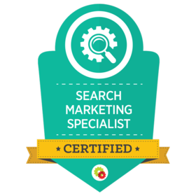Certified Search Marketing Specialists are uniquely qualified to help brands and businesses develop and execute a sustainable search marketing program. They are trained to identify and capitalize on search demand from platforms like Google, Amazon, YouTube and iTunes. The methods they have been taught are within the terms of service of these platforms.