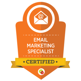 Certified Email Marketing Specialists are uniquely qualified to help brands and businesses leverage email marketing and followup to indoctrinate, create relationships with and convert prospects and existing customers. In short, Email Marketing Specialists are able to not only effectively follow up with fresh leads and customers, they know how to craft email campaigns that get delivered, get opened, and most importantly...get clicked.