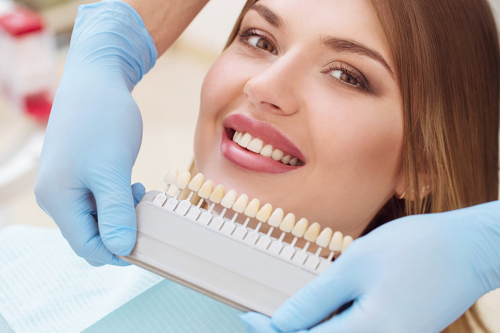 Teeth whitening Session - Our teeth whitening service is an in-office session using light treatment to make your teeth whiter.Rise, shine and smile with confidence.