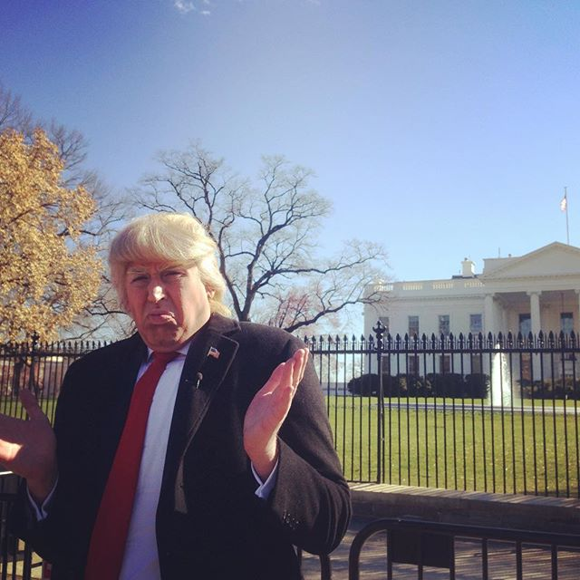 @trumpguytv at the @whitehouse for the @march4trump