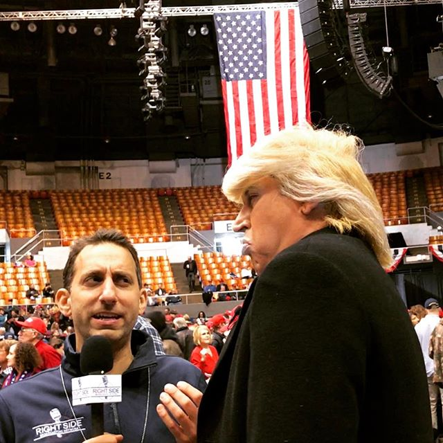 @trumpguytv with the great @lookner of @RSBN tv at the @realdonaldtrump rally in Nashville