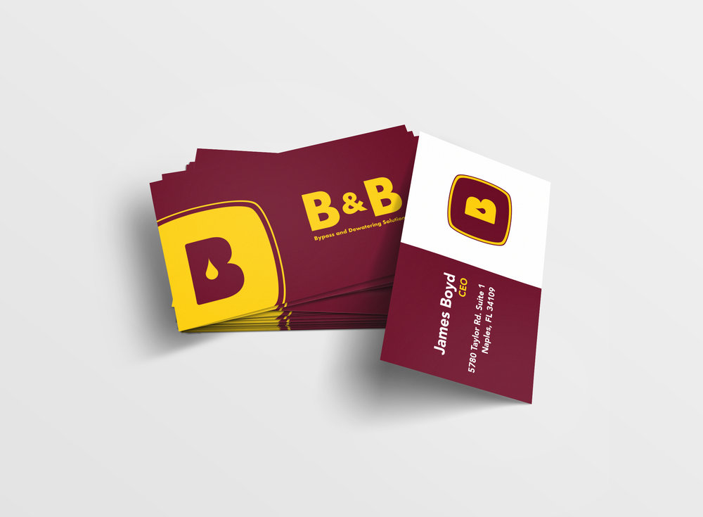 B&B Business Cards