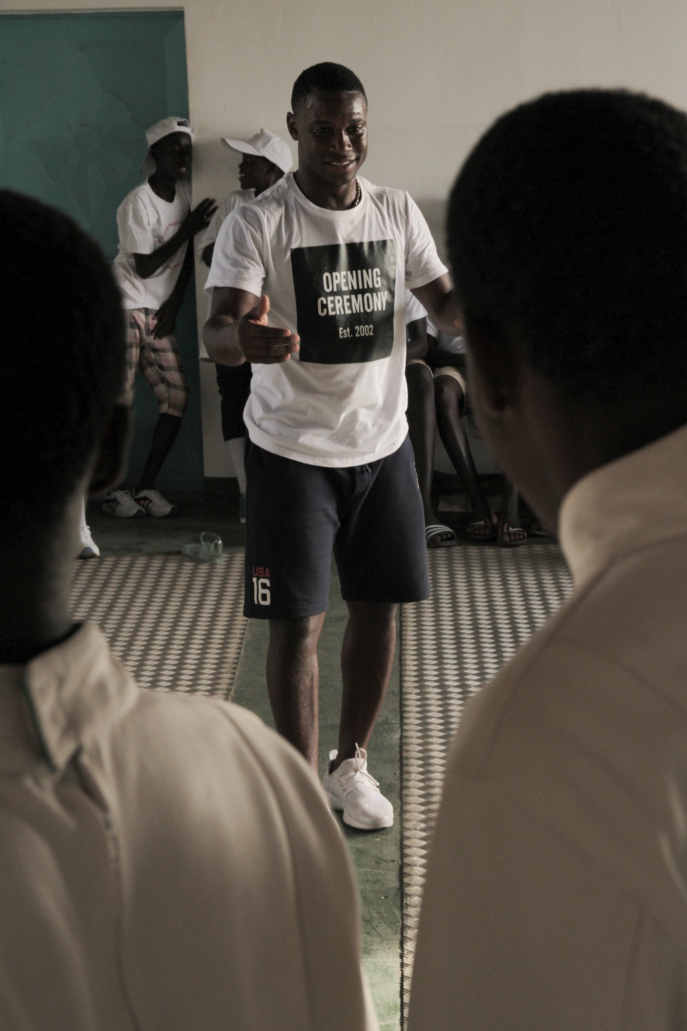 Thies, Senegal OSIWA (Open Society for West Africa)     Partnered with OSIWA a not for profit using Fencing as a restorative justice tool in West Africa to teach fencing classes to their students.. Images shot by Dakar Lives & featured on CNN.