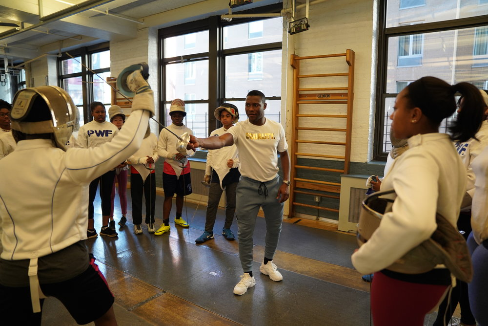 Peter Westbrook Foundation    Volunteer weekly at the Peter Westbrook Foundation in NYC a not for profit organization using fencing as a tool to improve opportunities for inner city in the Tri State Area.