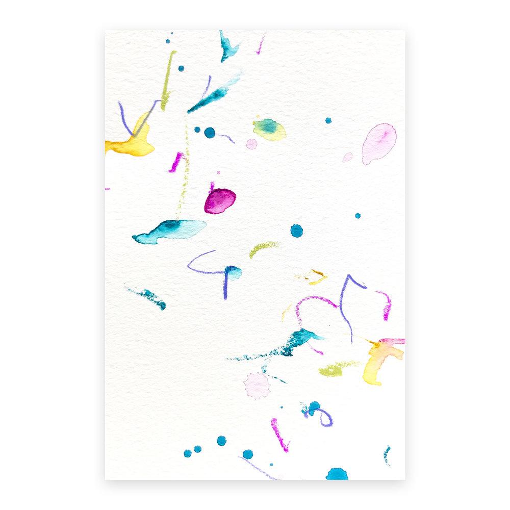 dd_oct25181  Mixed media on paper 14.8×10cm