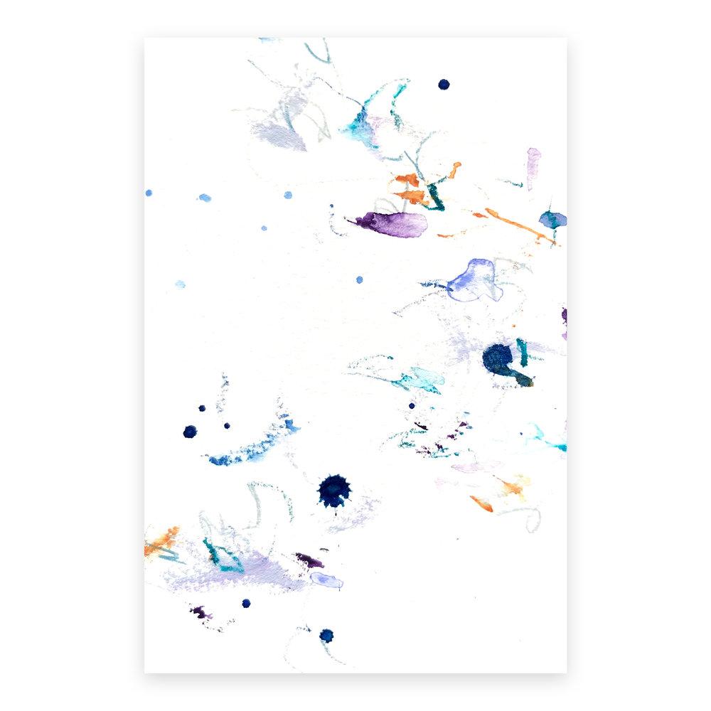 dd_nov17182  Mixed media on paper 14.8×10cm