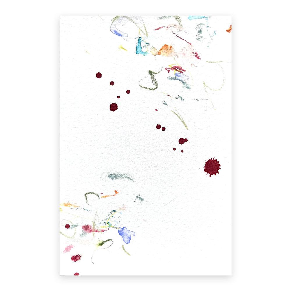 dd_nov24181  Mixed media on paper 14.8×10cm
