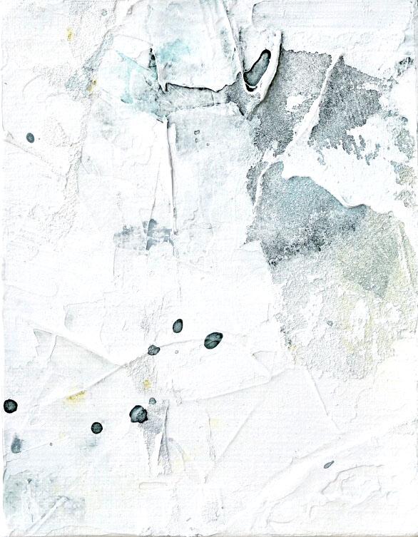 Untitled_jul19183  Mixed media on canvas.  18.0×14.0cm