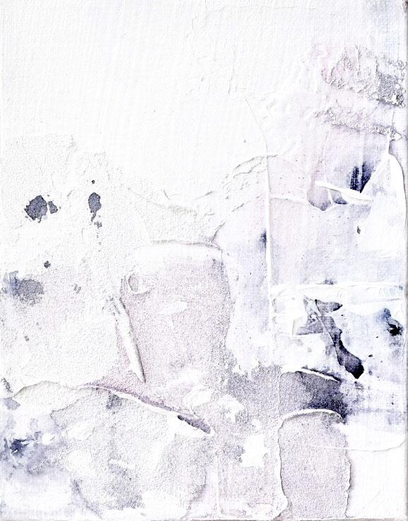 Untitled_jul11182  Mixed media on canvas.  18.0×14.0cm