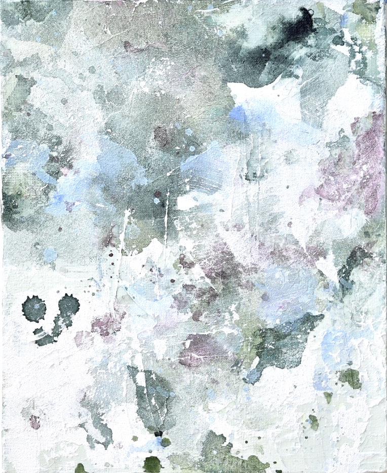 Untitled_jun10181  Mixed media on canvas.  27.3×22cm