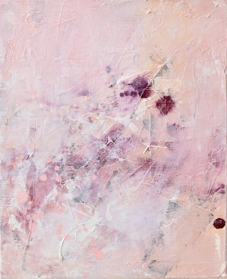 Untitled_feb13182  Mixed media on canvas.  27.3×22cm