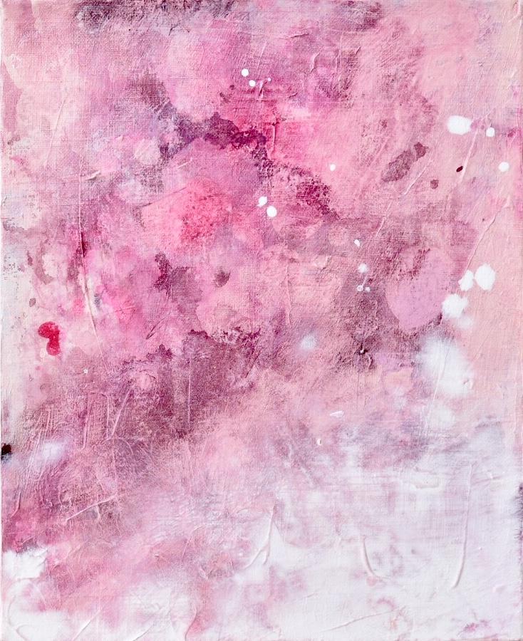 Untitled_feb11181  Mixed media on canvas.  27.3×22cm