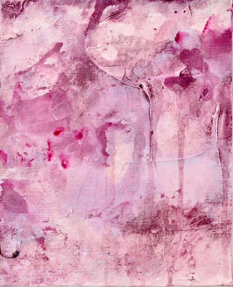 Untitled_feb09182  Mixed media on canvas.  27.3×22cm