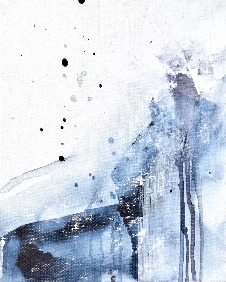 Untitled_jan12181  Mixed media on canvas.  27.3×22cm