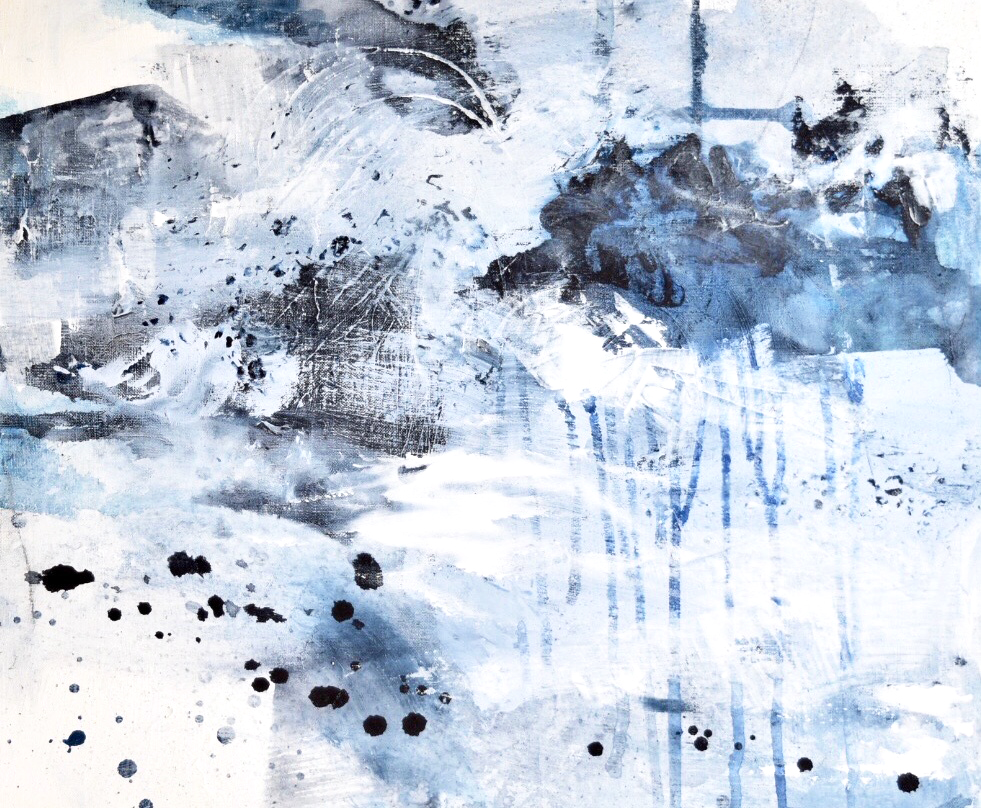 Untitled_nov02171  Mixed media on canvas.  45.5×38cm