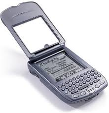 The Handspring Treo ran off the PalmOS operating system