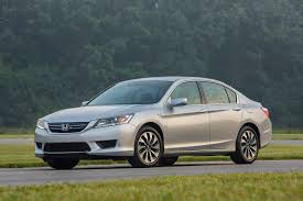 Honda Accord 2015. Our proxy for a 'typical family sedan'