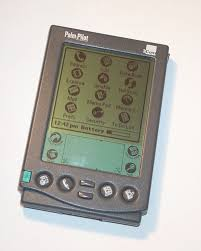 One of the original Personal Digital Assistant's (PDA's) - the PalmPilot