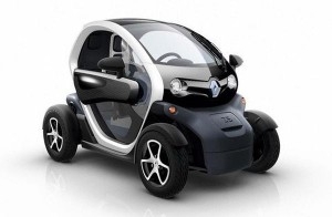 The 2013 Renault Twizy. It has recently been suggested with two electric motor configurations.