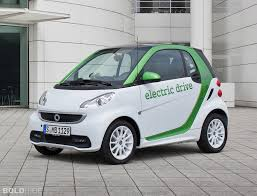 Smart Fortwo electric. Note how heavy this is at over 800kg.