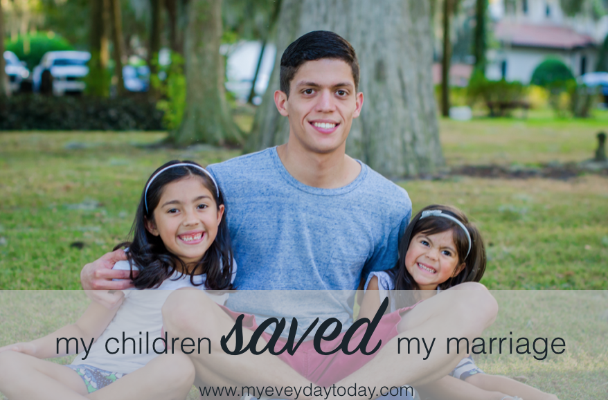 having a baby saved my marriage