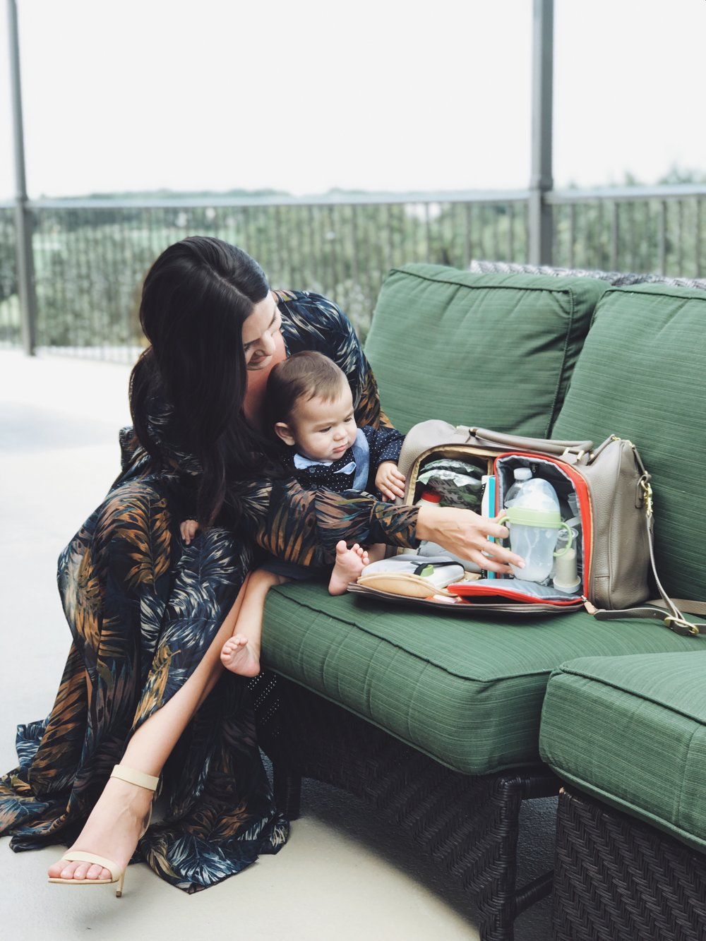 My Go-To Diaper bag //  Pacapod
