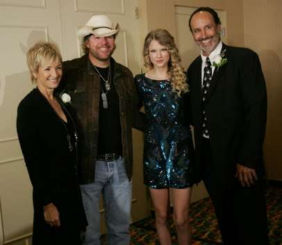 Kye Flemming, Toby Keith, Taylor Swift, Mark