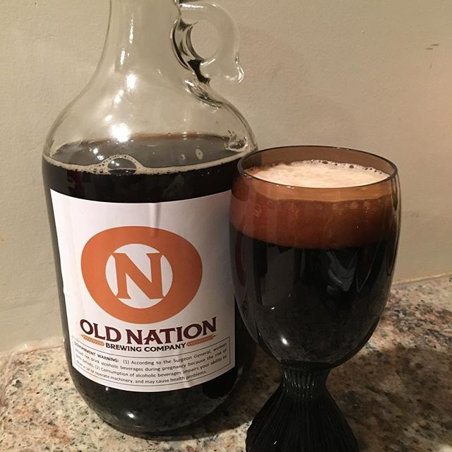 Old Nation Brewing Co. has highest rated chestnut beer Electron Brown on Untappd at 4.0. Made with Treeborn Chestnut Chips, grown and harvested from Michigan chestnut orchards. #chestnut #nut #beer #chestnutbeer #nutsfornuts #toomanyhashtags #oldnationbrewingco