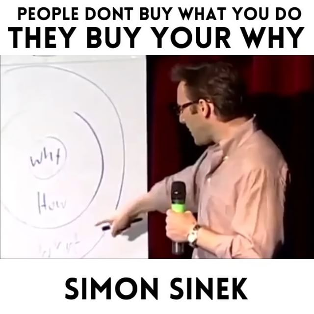 "LISTEN UP 🗣👂🏽👂🏼👂🏻 This is so important for BUSINESS OWNERS who are struggling to build awareness of their brand and drive more traffic to their store, website, whatever. 👉🏼People don't buy what you do, they buy WHY you do it. People don't trust brands, people trust PEOPLE.👈🏼 — LET ME EXPLAIN — * Uber doesn't sell car rides, it sells time. It gives people the convenience of getting places quicker. * Apple doesn't sell computers and phones, it sells the newest (sexy) innovation.  These brands have figured out ways to communicate their message ""more humanly"" - allowing people to feel connected to the vision of the organisation in support of what they sell, rather than just the product alone. — TAKE A LOOK — What you claim you sell (WHAT) VS what you actually sell (WHY): ❌Organic/vegan food - Cafe V.S. ✅Better health & the chance for a longer more comfortable life • ❌Gym membership - Gym V.S. ✅ A community of likeminded individuals, higher self confidence, & positive change —— If more small businesses started communicating their why instead of their what, the engagement with their brand would shift in a more positive direction. 👫🙌🏼💰🤝 The human brain connects more deeply with a STORY than it ever will with a ""product."" 🧠❤️ —— In short: If you want people to stop scrolling past your posts, GRAB THEIR ATTENTION with a meaningful story they can relate to. Communicate the vision of your brand &  Make them feel something worth stopping for."