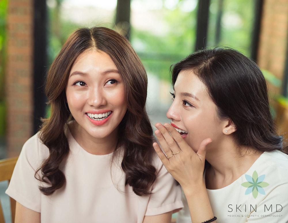 Women Chatting