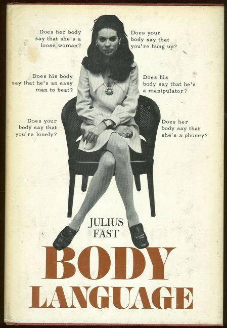 Second cover of  Body Language  by Julius Fast, 1971.