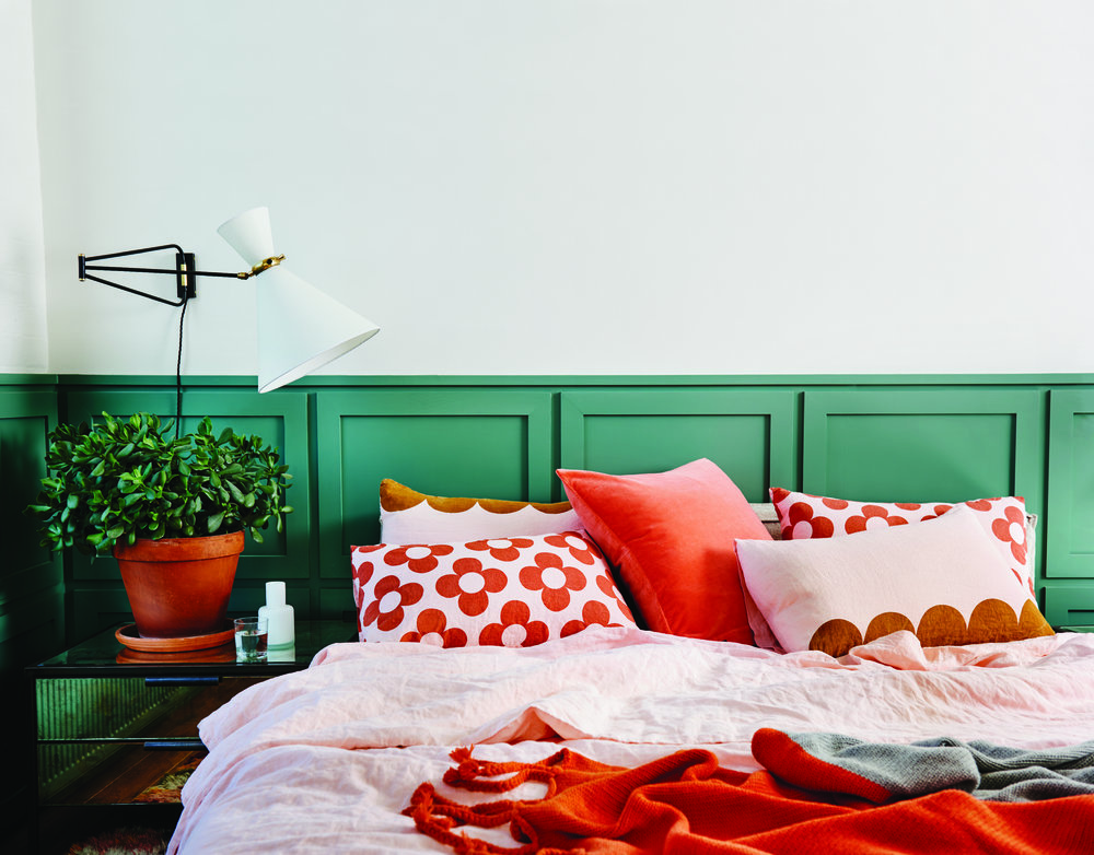Castle + Things  collection of playful bed linen.