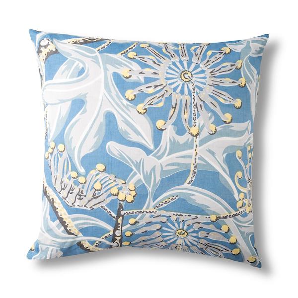 Utopia Goods  Firewheel sky Linen Cushion.
