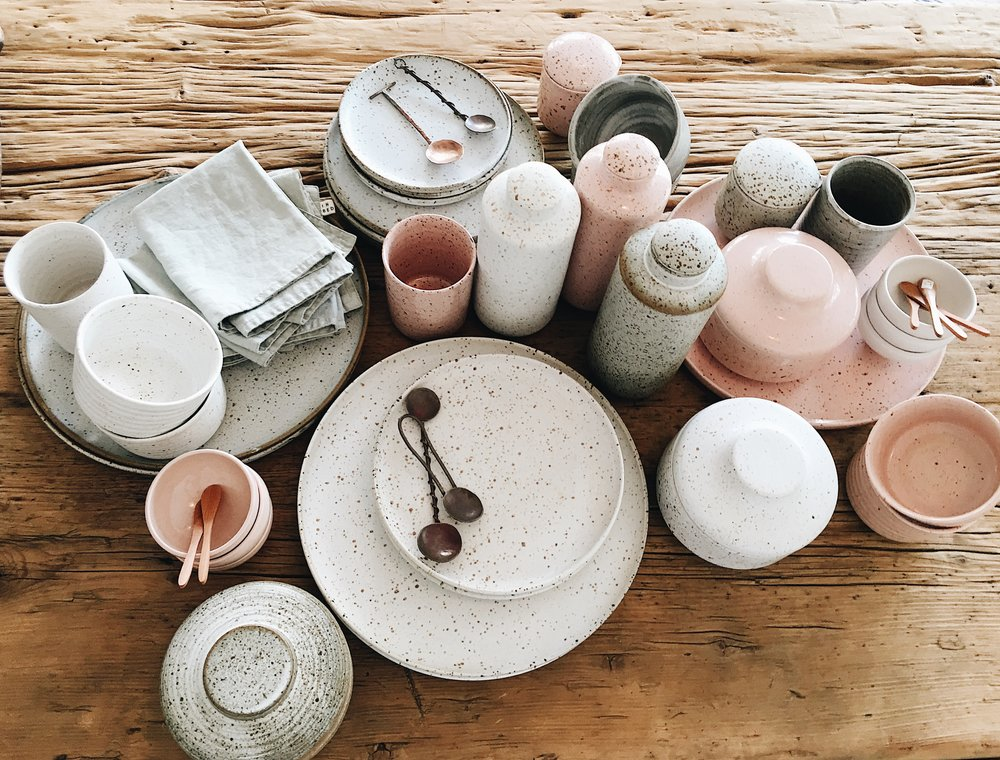 Local ceramists are the focus -  Commune  will regularly introduce new and exciting artisans to the mix.