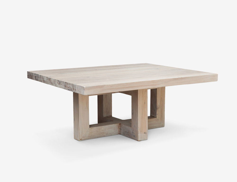 1 |  Global Square Coffee Table in Solid Timber from  MCM House .