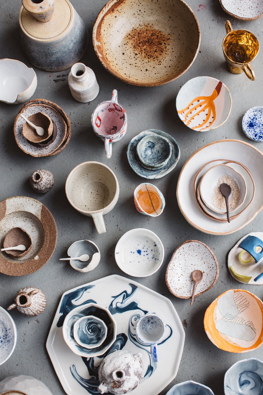 An extract from  Clay: Contemporary Ceramic Artisans     by Amber Creswell Bell.