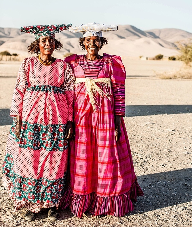 Namibia Herero Women Photographic Print by Kara Rosenlund.
