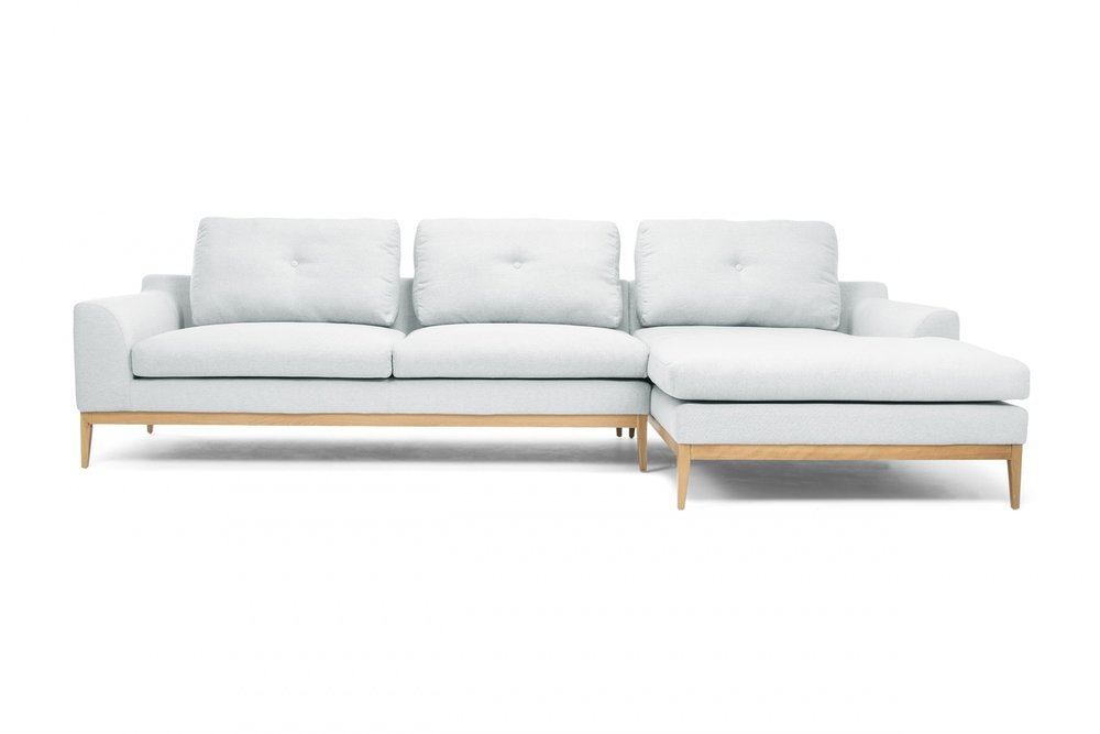 3 |  Loft Corner Sofa from in Flair Light Blue  Lounge Lovers .