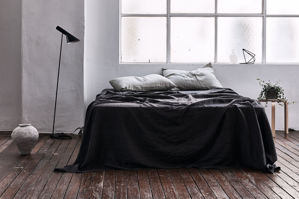 Dark hues - the new collection from  In Bed .
